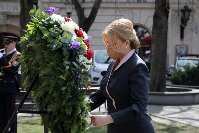 Zuzana Caputova coroana flori